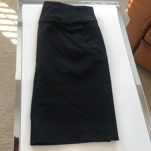Banana Republic black pencil skirt size 0P